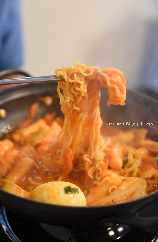 台中韓式料理一中街求求辣年糕菜單價位22
