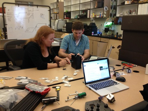 X-Carve Build Day - Diane and Max, Getting it Done