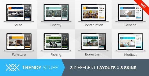 TrendyStuff v1.2 - Multiconcept WordPress Theme