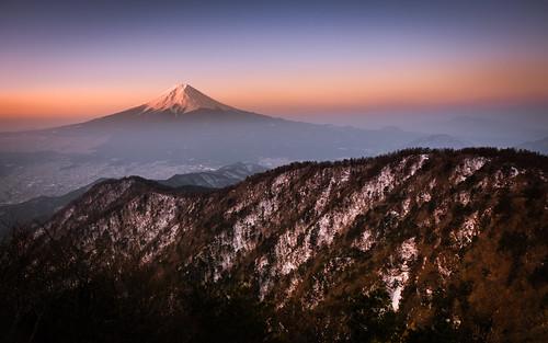fuji fujisan japan mtfuji yamanashi dawn mitsutoge morning mount mountain winter fujifilm xt1
