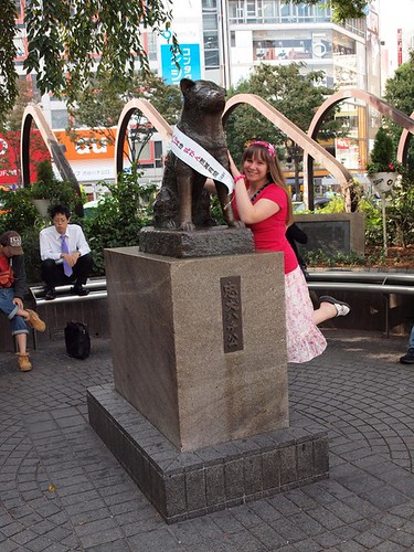 Hachiko and his Sash