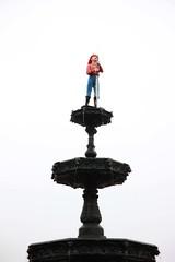 Fireman Fountain in Chattanooga, TN
