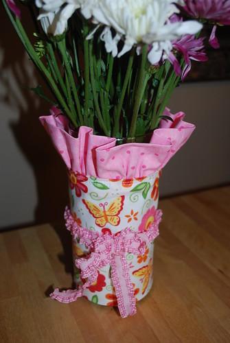 Flower Vase Wrap