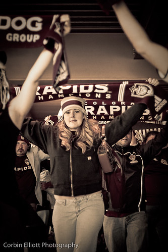 Colorado Rapids Supporters Oct 30th 2011 by CE's Photography