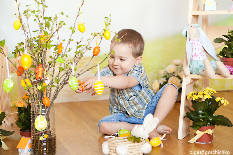 Весенне-пасхальный фотопроект Прикосновение весны