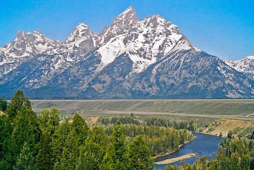 Teton Peaks by bhophotos