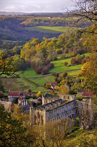 Rievaulx Abbey from the Terrace
