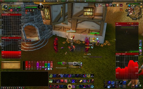 Training dummy in Stormwind