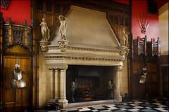 Fireplace, Great Hall, Edinburgh Castle