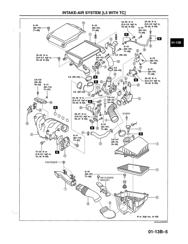 mazda 2 3 engine diagram