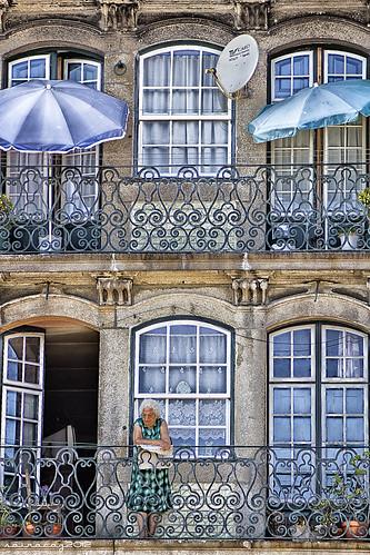 Balcones Oporto by sairacaz