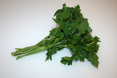05 - Zutat glatte Petersilie / Ingredient italian parsley