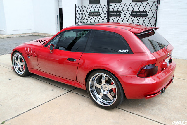 2002 M Coupe | Imola Red | Black | 700+ HP | Hartge Hood