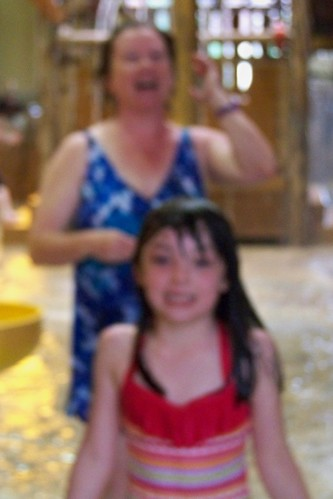 Blurry Julia and Grandma
