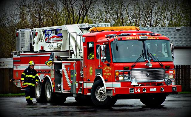 West Seneca Business Park Fire