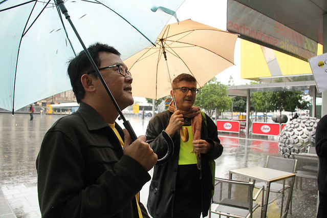 Bersih 3.0 in the rain