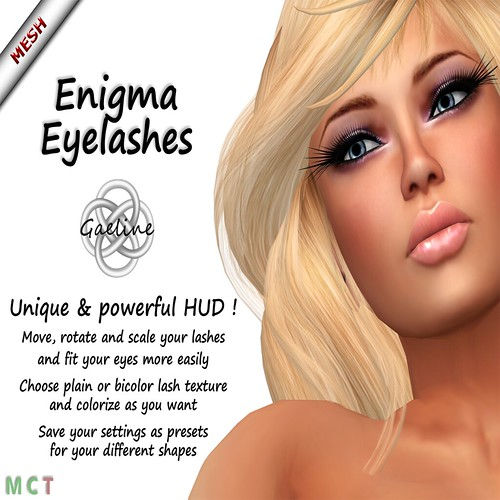 WONDERFUL MESH LASHES WITH HUD ! by mimi.juneau *Mimi's Choice*