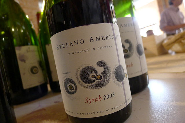Great Syrah from Cortona, Tuscany, by Stefano Amerighi