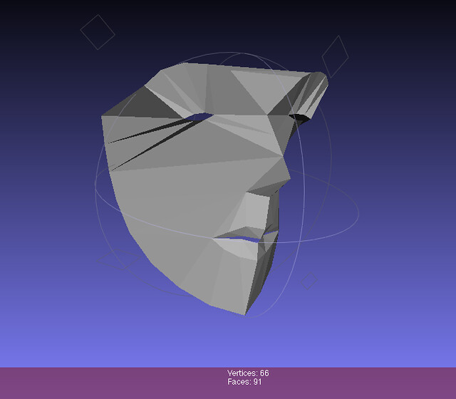 FaceTracker reference 3D model