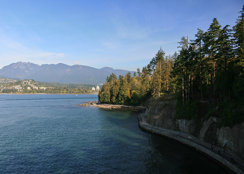 Seawall from Siwash