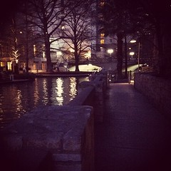 River. Walk.