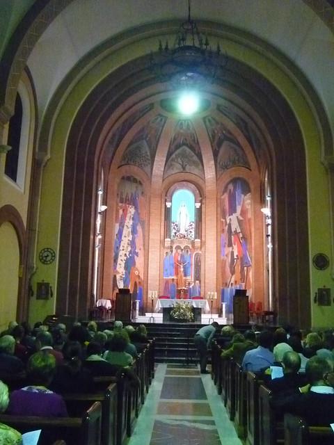 iglesia virgen peregrina madrid: