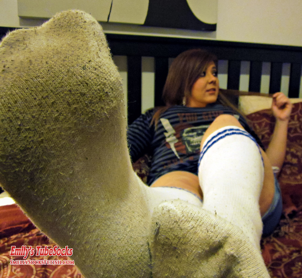Foot milf sock