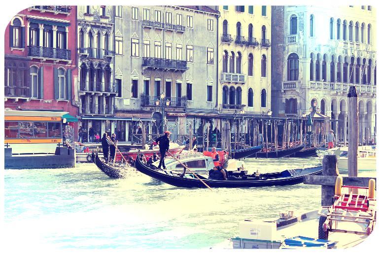 venice day 2 gondolas