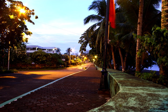 Boulevard St. in Dapitan City