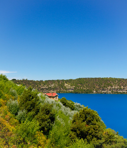 Mt Gambier - Blue and Green is all around by Glen Adamson