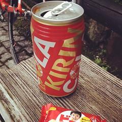 キリンのコーラ。