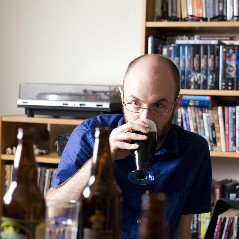 Iain & Angry Scotch ale