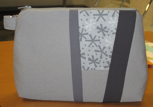 grey improv pouch