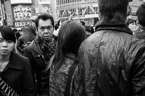 Whacha looking at? Shibuya, Tokyo 2012