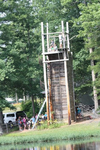 Camp Nakanawa Zip line