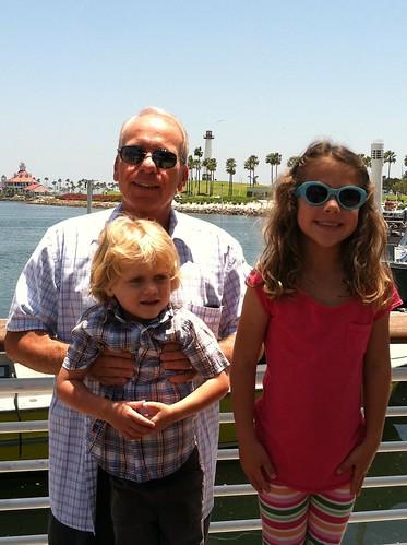 Long Beach with Grandpa by mrjonah