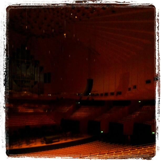 My third trip to the Sydney Opera House