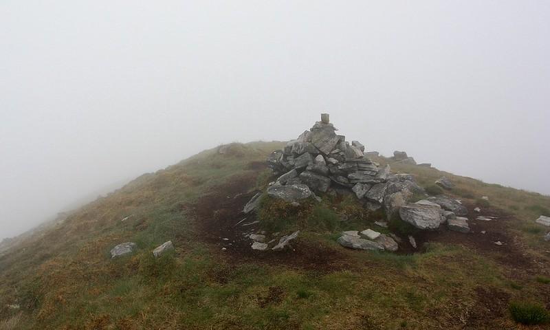 Summit of Beinn a' Chlaidheimh