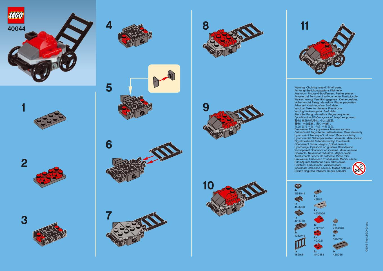 Как из лего сделать машину легко