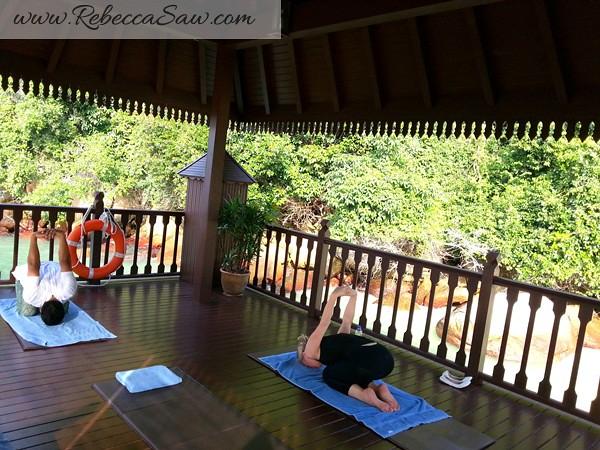 pangkor laut resort - yoga
