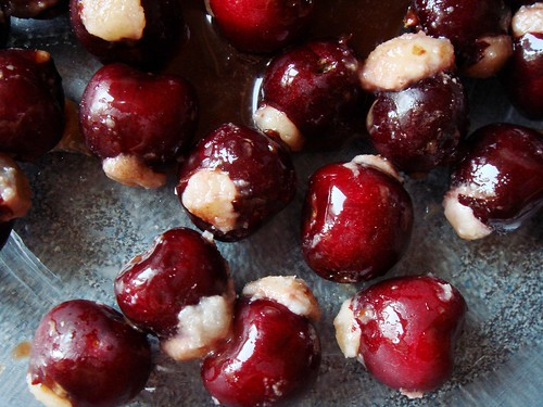 Cherries Stuffed with Marzipan