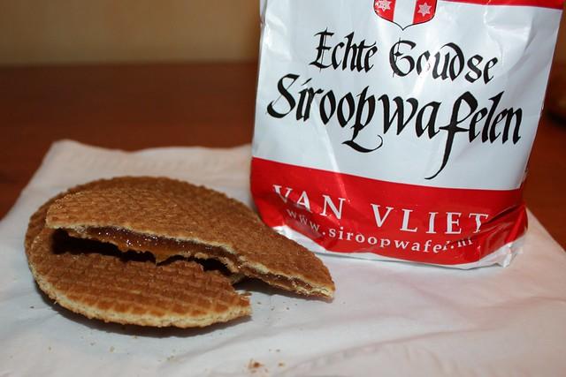 Syrup waffles (siroopwafelen)