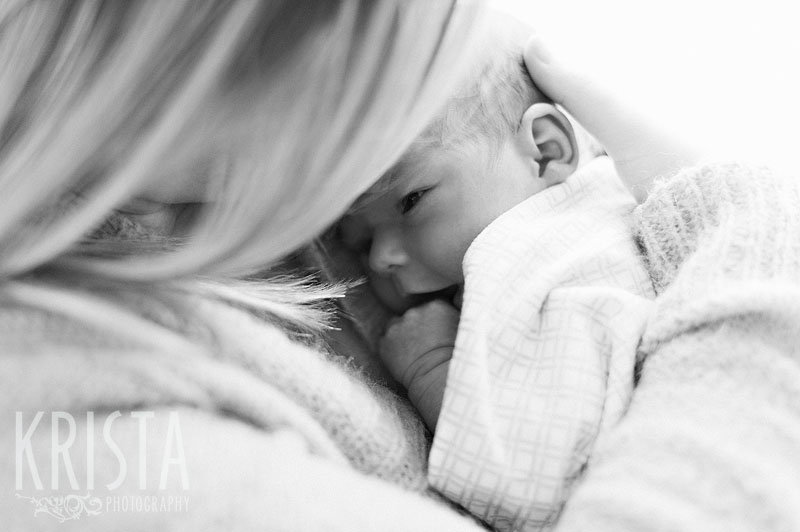 Adorable newborn baby session