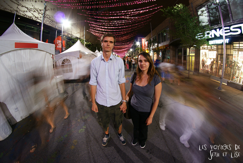 blog canada montreal pvt whv couple insolite drole rue mouvement nuit