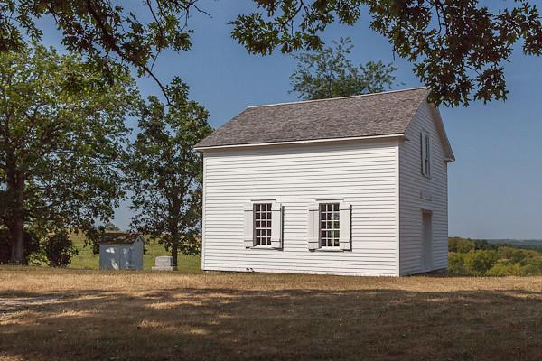 Hauge Log Church - Exterior