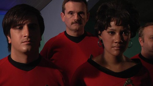 "Jasmine Pierce as Uhura (""Going Boldly"")"