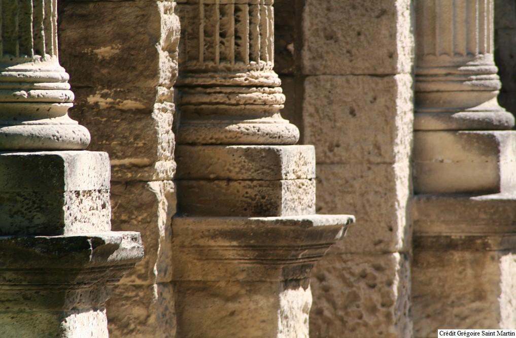 Colonnes de l'Arc de Triomphe