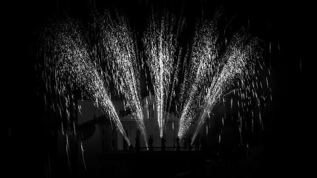 Fuochi d'artificio alla Madonna delle Grazie