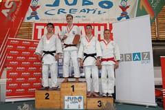Dimitri Spagnulo sul podio a Graz