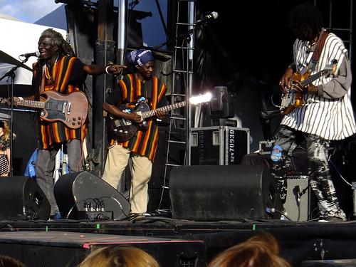 Sierra Leone's Refugee Allstars at Ottawa Bluesfest 2012